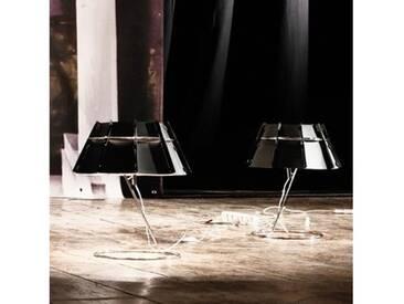 Slamp CHAPEAU Tischleuchte mit Dimmer Ø 42 H: 48 cm, schwarz/verspiegelt CHA14TAV0000B_000, EEK: A++