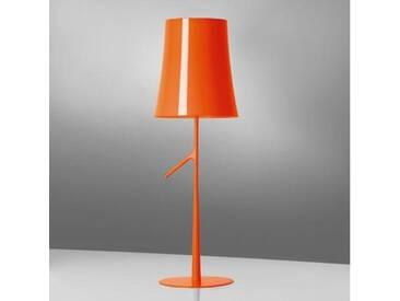 Foscarini Birdie grande Tischleuchte mit Touchdimmer Ø 25 H: 70 cm, orange 22100153, EEK: A++