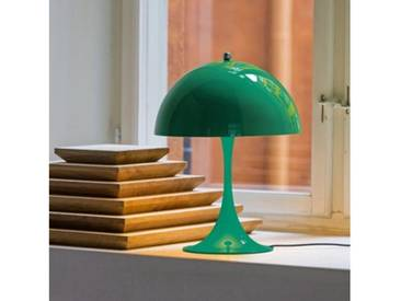 louis poulsen Panthella Mini LED Tischleuchte mit Dimmer Ø 25 H: 33,5 cm, blaugrün 5744162458, EEK: A+