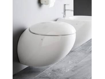 Laufen IL BAGNO ALESSI One Wand-Tiefspül-WC spülrandlos L: 58,5 B: 39 cm, weiß, mit Clean Coat H8209714000001