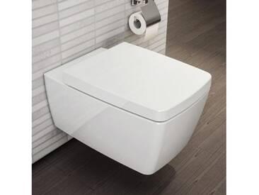 VitrA Metropole Wand-WC-Tiefspüler L: 56 B: 36 cm weiß ohne VitrAclean 5676B003-0075