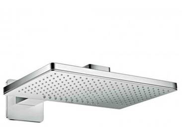 AXOR ShowerSolutions 460 / 300 2jet Kopfbrause mit Brausearm, mit Softcube Rosette 35275000