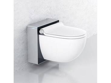 Grohe Sensia IGS Dusch-WC Komplettanlage für Unterputzspülkästen, Wandmontage weiß/chrom matt/schwarz 39111LK0, EEK: A+