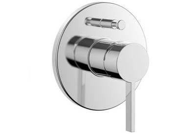Kartell by Laufen Einhand-Fertigmontage-Set für UP-Bademischer ohne Rohrunterbrecher chrom H3213360040001