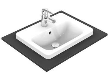 Ideal Standard Connect Einbauwaschtisch B: 58 T: 43 cm mit Ideal Plus E5044MA
