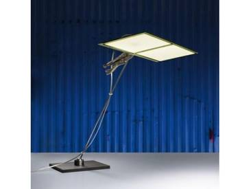 Ingo Maurer OH.LED.ONE LED Tischleuchte B: 29 H: 55 cm, edelstahl/transparent 7360000, EEK: A+