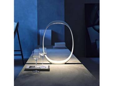 Foscarini Anisha Grande Tavolo LED Tischleuchte mit Dimmer B: 33 H: 46 T: 5 cm, weiß 213001R110, EEK: A+