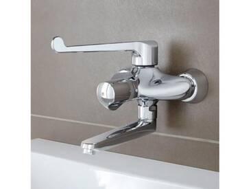 Grohe Grohtherm Ergomix Thermostat-Waschtischbatterie, für Wandmontage Ausladung: 238 mm 34018000