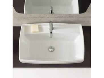 Scarabeo Arco Einbauwaschbecken B: 80 T: 48 cm weiß 1002