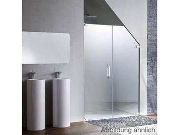 Hüppe Studio Paris Schwingtür mit Nebenteil in Nische 70-120 cm Linksbefestigung PR0049C91322