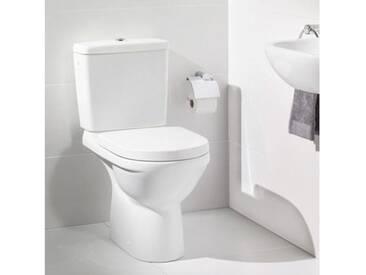 Villeroy & Boch O.novo Stand-Tiefspül-WC für Kombination L: 67 B: 36 H: 40 cm weiß Abgang senkrecht 56610101