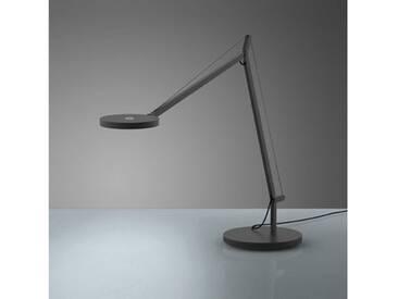 Artemide Demetra Tavolo LED Tischleuchte mit Dimmer, anthrazitgrau 1734010A+1733010A, EEK: A+