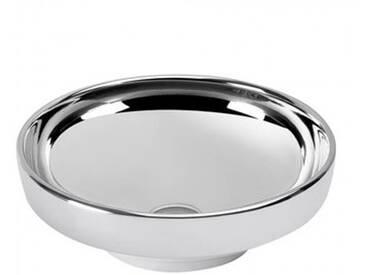 VitrA Options Water Jewels Aufsatzschale, Einbau- & Unterbauwaschtisch Ø 40 cm platinum 4334B071-0016
