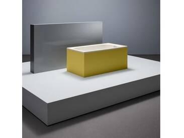Bette LaBette Rechteck-Badewanne L: 124 B: 70 H: 42 cm pergamon, mit BetteAntirutsch gesamte Bodenfläche, für Griffmontage 1240-0012GR,ARgB