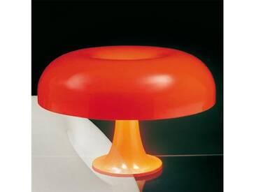 Artemide Nesso Tischleuchte Ø 54 H: 16 cm, orange 0056050A, EEK: A++