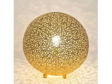 Holländer Lily Grande Tischleuchte Ø 43 H: 44 cm, gold 300 K 12242, EEK: A++