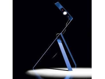 Ingo Maurer Jetzt 2 LED Tischleuchte mit Dimmer B: 30 H: 40 cm, blau 1137250, EEK: A+