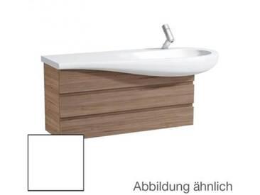 Laufen Alessi One Waschtischunterschrank B: 99,5 H: 48,5 T: 32 cm, 2 Auszüge, Waschtischmulde rechts Front noce canaletto / Korpus noce canaletto H4245000976301