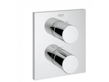 Grohe Grohtherm 3000 C Thermostat mit integrierter 2-Wege-Umstellung für Wanne/Dusche chrom 19567000