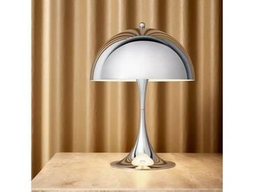louis poulsen Panthella Mini LED Tischleuchte mit Dimmer Ø 25 H: 33,5 cm, chrom 5744162555, EEK: A+
