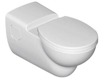 Ideal Standard Contour 21 Wandtiefspülklosett barrierefrei ohne Spülrand L: 70 B: 36 cm weiß Ideal Plus S3069MA