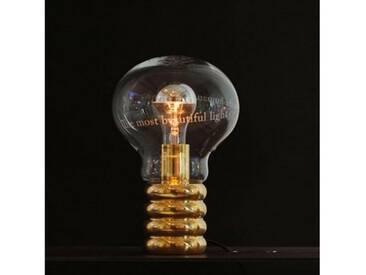 Ingo Maurer Bulb Limited Tischleuchte B: 20 H: 30 cm, messing 1036000, EEK: A++