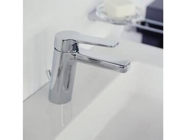 Keuco Moll Einhebel-Waschtischmischer 120 mit Ablaufgarnitur 52702010000