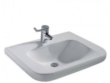 Ideal Standard Contour 21 Waschtisch unterfahrbar B: 65 T: 55 cm, ohne Überlauf weiß S253301