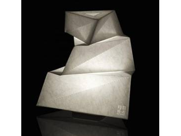 Artemide IN-EI Yadokari Tischleuchte B: 30 H: 30,8 T: 21,5 cm, weiß 1661010A, EEK: A++