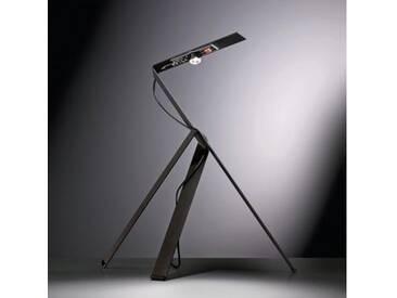 Ingo Maurer Jetzt 2 LED Tischleuchte mit Dimmer B: 30 H: 40 cm, schwarz 1137300, EEK: A+
