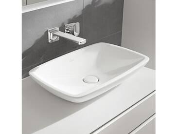 Villeroy & Boch Loop & Friends Aufsatzwaschtisch B: 58,5 T: 38 cm weiß mit Überlauf 51540001