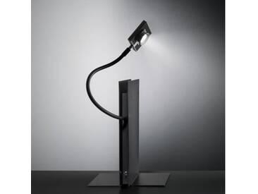 Ingo Maurer LED´S Oskar LED Tischleuchte H: 33 T: 19 cm, schwarz 7320300, EEK: A+