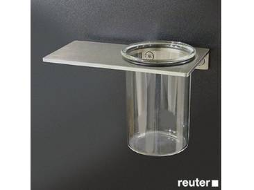 Boffi Blade KIBSP01 Wandzahnbürstenhalter mit Becher edelstahl poliert KIBSP01