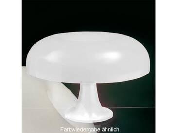 Artemide Nesso Tischleuchte Ø 54 H: 16 cm, weiß 0056010A, EEK: A++