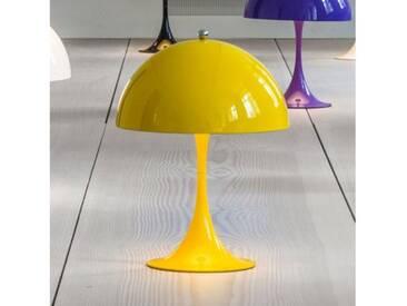 louis poulsen Panthella Mini LED Tischleuchte mit Dimmer Ø 25 H: 33,5 cm, gelb 5744162539, EEK: A+