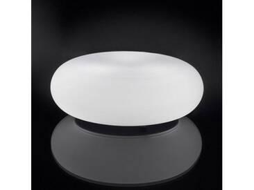 Artemide Danese Milano Itka Bodenleuchte Ø 35 H:12,5 cm, weiß DX0060F10, EEK: A++