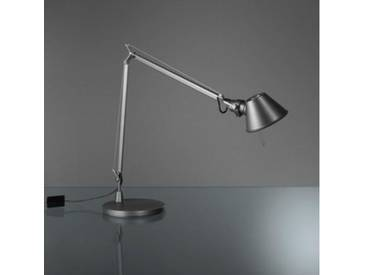 Artemide Tolomeo Midi LED Tischleuchte mit Tischfuß H: 50-100 cm, grau A015120+A003920, EEK: A+
