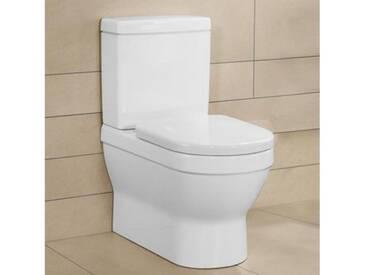 Villeroy & Boch Architectura Stand-Tiefspül-WC für Kombination L: 70 B: 37 H: 40 cm weiß 56861001