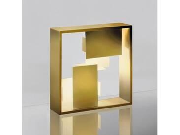 Artemide Fato Tischleuchte B:35 H:35 T:10 cm, gold 0048050A, EEK: A++