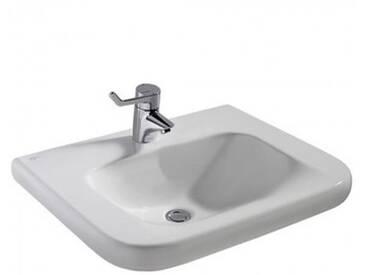 Ideal Standard Contour 21 Waschtisch unterfahrbar B: 60 T: 55 cm, ohne Überlauf weiß E512301