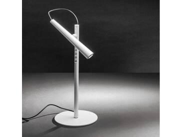 Foscarini LED Magneto Tischleuchte Ø 15 H: 38 cm, weiß 202001R210, EEK: A+