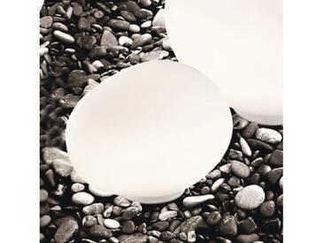 Foscarini Outdoor Gregg Terra grande Bodenleuchte / Tischleuchte L: 47 H: 40 cm, weiß 21801310, EEK: A++