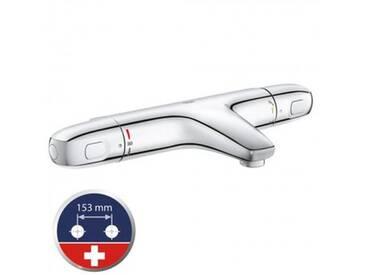 Grohe Grohtherm 1000 Neu Thermostat-Wannenbatterie für die Schweiz, für Wandmontage 34158003
