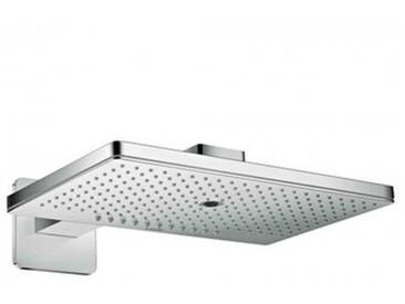 AXOR ShowerSolutions 460 / 300 3jet Kopfbrause mit Brausearm, mit Softcube Rosette 35276000