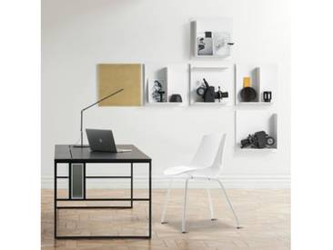 MDF Italia FLOW Stuhl mit Beinen B: 530 H: 805 T: 540 mm, weiß matt/weiß glanz F052101F006S007