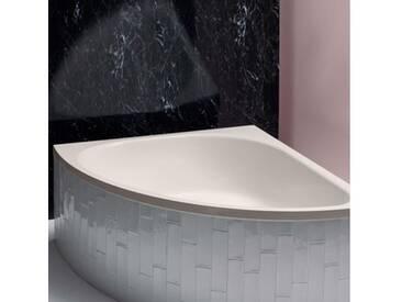 Bette Arco Eck-Badewanne L: 140 B: 140 H: 45 cm pergamon, mit BetteAntirutsch gesamte Bodenfläche, mit BetteGlasur Plus 6035-001ARgB,PLUS