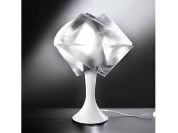 Slamp GEMMY PRISMA Tischleuchte Ø 22 H: 33 cm, weiß/transluzent GEM04TAV0001LE, EEK: A++