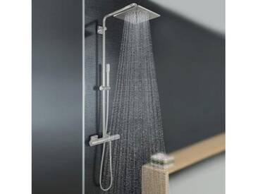 Grohe Rainshower F-Series System 254 Duschsystem mit Thermostatbatterie für die Wandmontage 27469000
