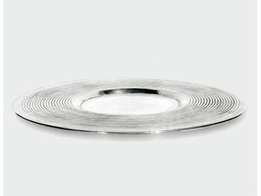 Lambert BELLEVUE Tablett rund Ø 750 mm, silber 42710