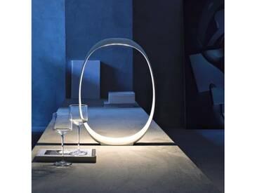 Foscarini Anisha Piccola Tavolo LED Tischleuchte mit Dimmer B: 23 H: 32 T: 5 cm, weiß 2130012R110, EEK: A+